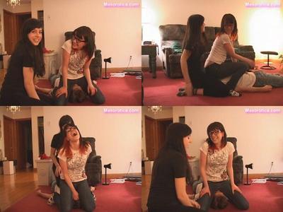 Mistress Kate introduces Julia to facesitting